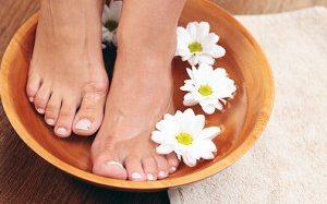 Преимущества ванночек с уксусом для ног