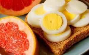 Яичная диета — видимый результат уже через неделю