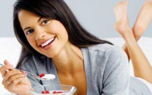 Правильная диета для здоровья женской груди