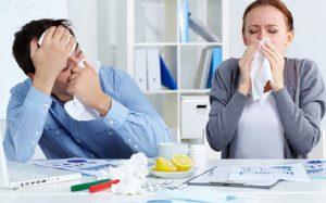 Как не заразить гриппом коллег